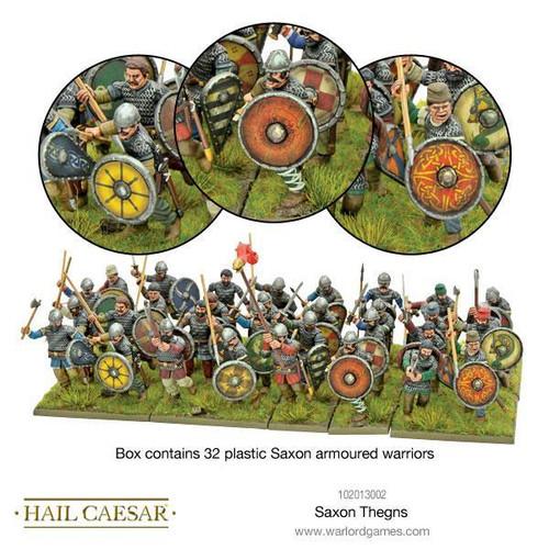 Hail Caesar Saxon Thegns