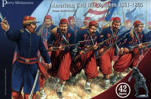 American Civil War Zouaves (1861-1865) plastic boxed set