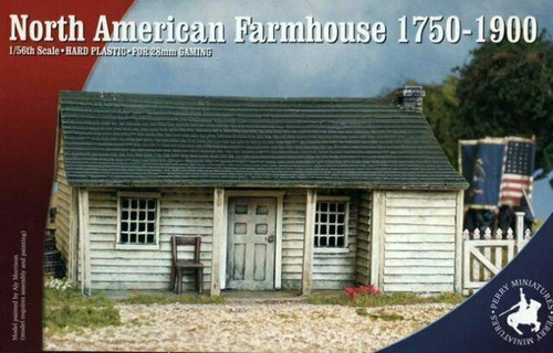 American Civil War North American Farmhouse 1750-1900