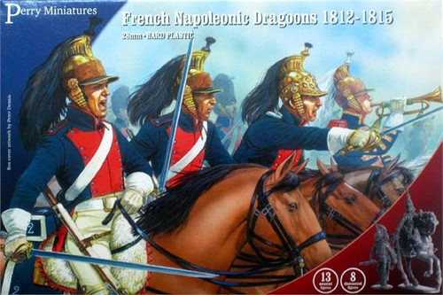 Napoleonic Wars French Dragoons 1812-1815