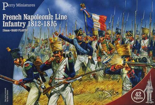 Napoleonic Wars French Napoleonic Line Infantry 1812-1815