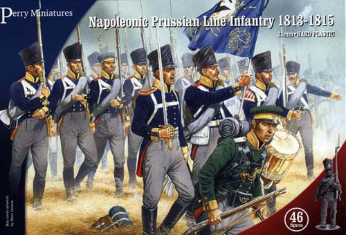 Napoleonic Wars: Prussian Napoleonic Line Infantry 1813-1815