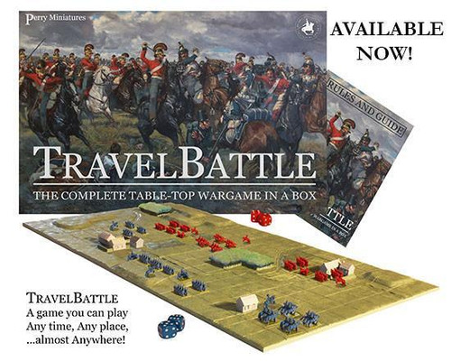 Napoleonic Wars Travel Battle set