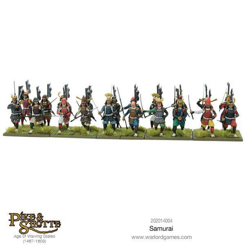 Pike & Shotte: Samurai