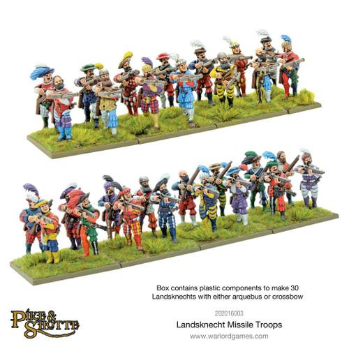Pike & Shotte: Landsknecht Missile Troops