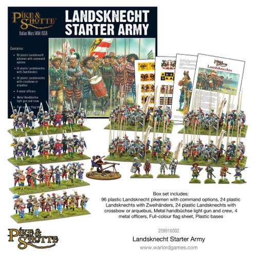 Pike & Shotte: Landsknecht Starter Army