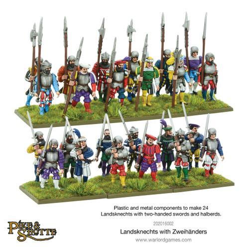 Pike & Shotte: Landsknechts with Zweihanders