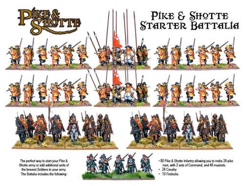 Pike & Shotte:  Starter Army Box
