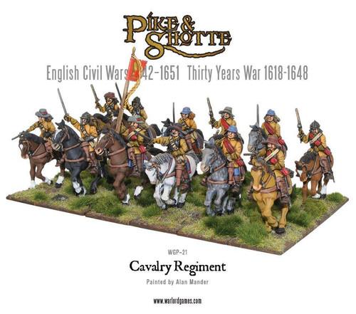Pike & Shotte: Cavalry Regiment plastic boxed set