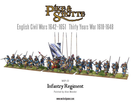 Pike & Shotte: Infantry Regiment plastic boxed set