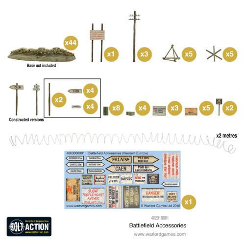 Scenery: Battlefield Accessories