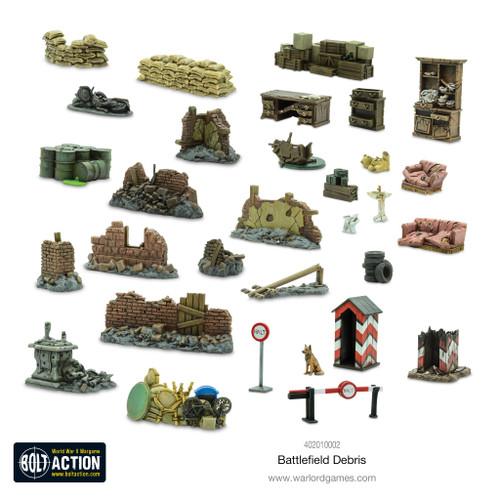 Scenery: Bolt Action Battlefield Debris