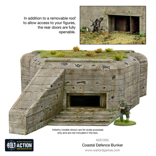 Scenery: Coastal Defence Bunker