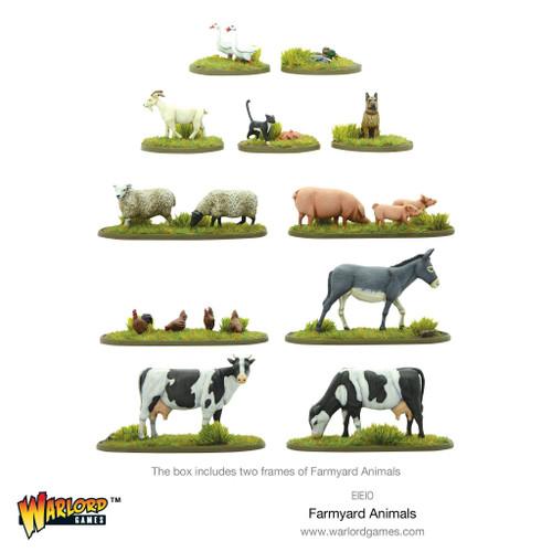 Scenery: Farmyard Animals