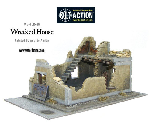 Scenery: Wrecked House