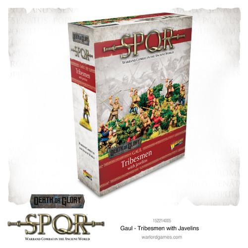SPQR: Gaul - Tribesmen with javelins