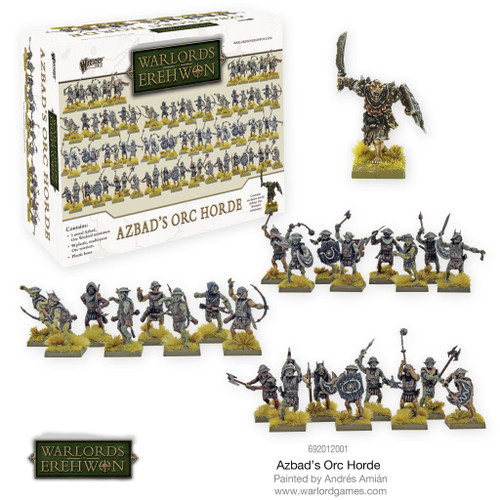 Warlords of Erehwon: Azbad's Orc Horde