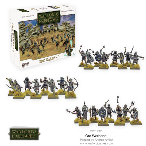 Warlords of Erehwon: Orc Warband