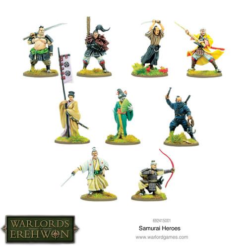 Warlords of Erehwon: Samurai Heroes