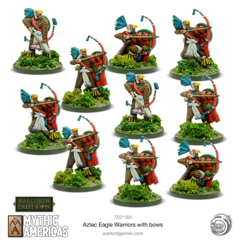 Mythic Americas: Eagle Warriors with bows