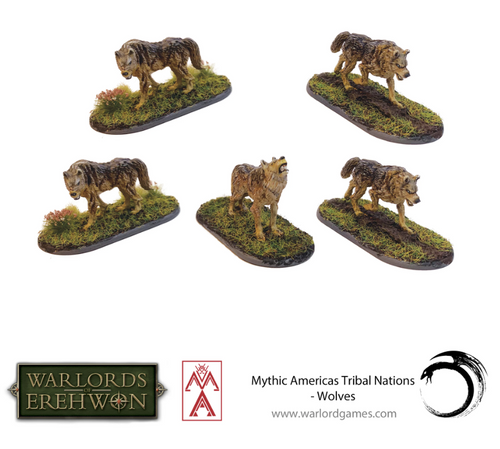 Mythic Americas: Wolves