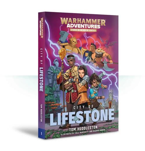 WARHAMMER ADVENTURES: CITY OF LIFESTONE (PB)