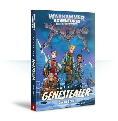 WARHAMMER ADVENTURES: CLAWS OF THE GENESTEALER (PB)