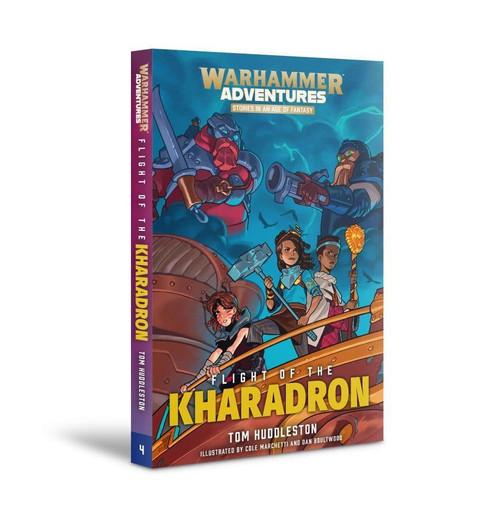 WARHAMMER ADVENTURES: FLIGHT OF THE KHARADRON (PB)