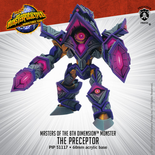 MONPOC Masters of the 8th Dimension: The Preceptor (Monster)