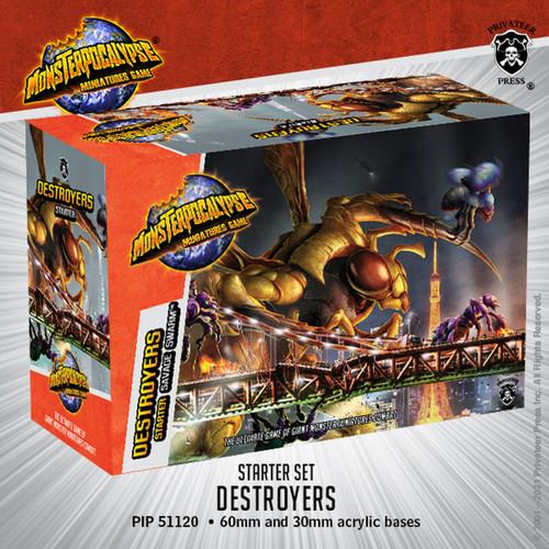 Monsterpocalypse Savage Swarm Destroyers Starter Set