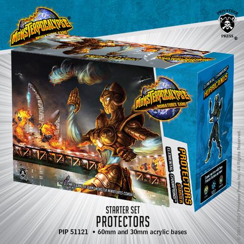 Monsterpocalypse Elemental Champions Protectors Starter Se