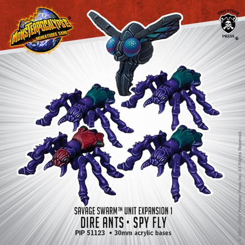 MONPOC Savage Swarm: Dire Ants and Spy Fly (Unit)