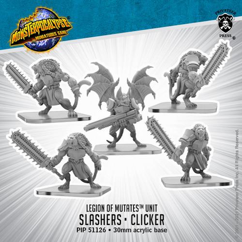 MONPOC Legion of Mutates: Slashers and Clicker (Unit)