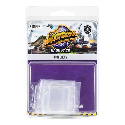 Monsterpocalypse: Unit Bases  (plastic)