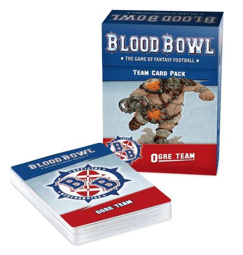 BLOOD BOWL OGRE TEAM CARD PACK