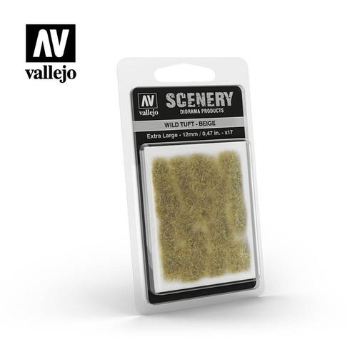 Acrylicos Vallejo Scenery: Wild Tuft - Beige (extra large)