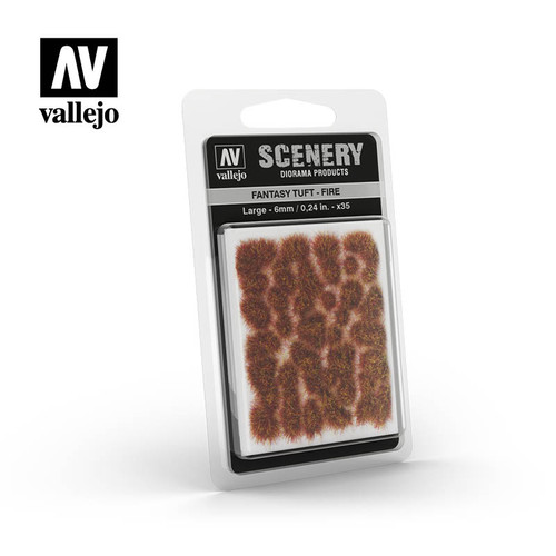 Acrylicos Vallejo Scenery: Fantasy Tuft - Fire