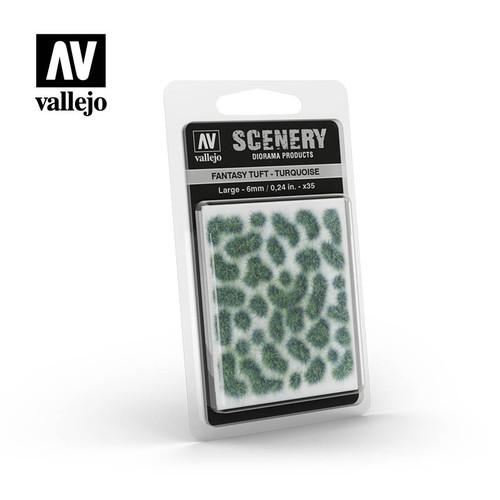Acrylicos Vallejo Scenery: Fantasy Tuft - Turquoise