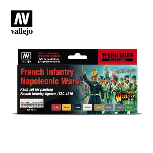 Acrylicos Vallejo Set: French Infantry Napoleonic Wars Set