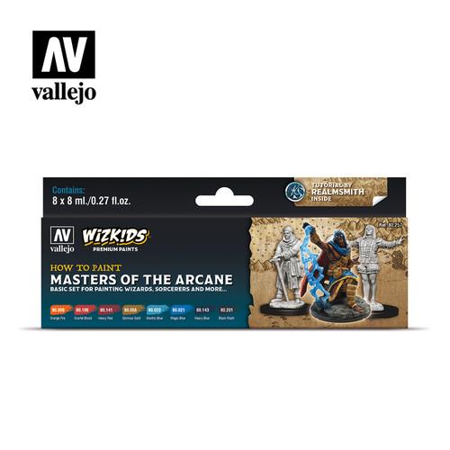Acrylicos Vallejo Set: Wizkids - Masters of the Arcane