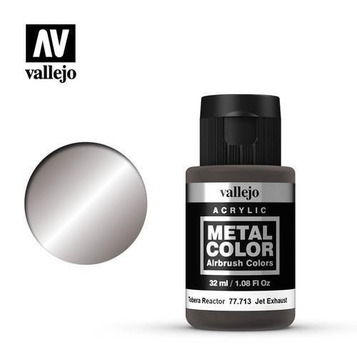 Acrylicos Vallejo Metal Color - Jet Exhaust 32ml