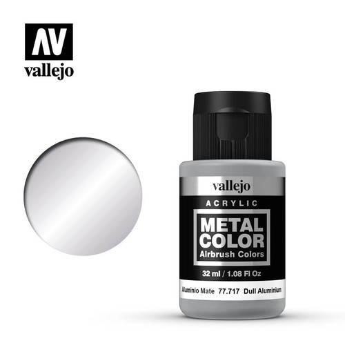 Acrylicos Vallejo Metal Color - Dull Aluminium 32ml