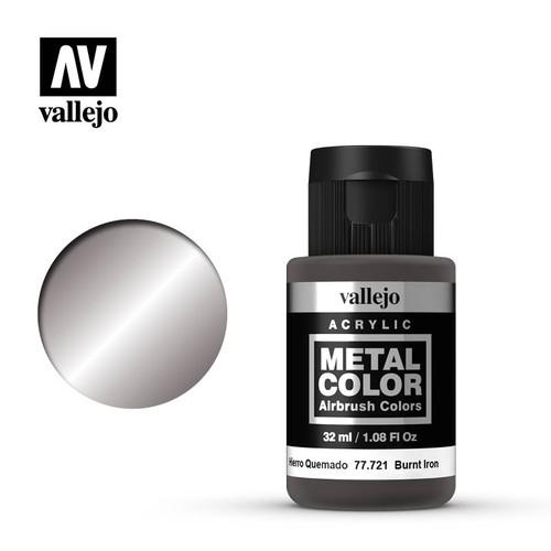 Acrylicos Vallejo Metal Color - Burnt Iron 32ml