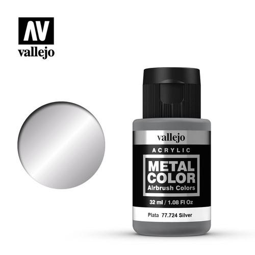 Acrylicos Vallejo Metal Color - Silver 32ml