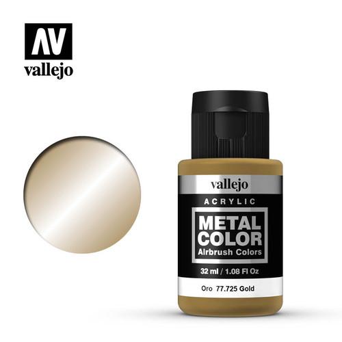 Acrylicos Vallejo Metal Color - Gold 32ml