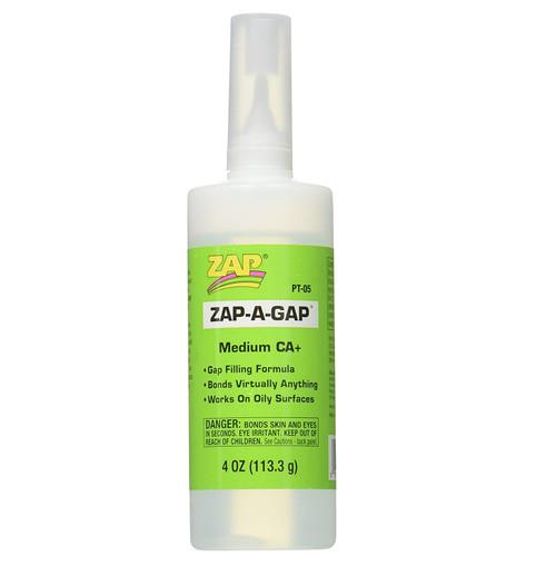 Zap A Gap CA+Super Glue (4 oz/113.3g)