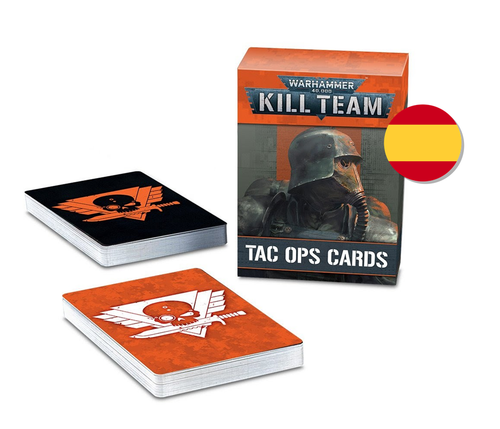 KILL TEAM: TAC OPS CARDS (SPANISH)