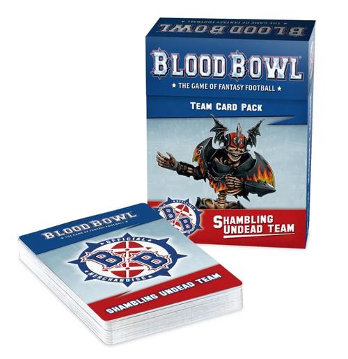 BLOOD BOWL: SHAMBLING UNDEAD TEAM CARDS