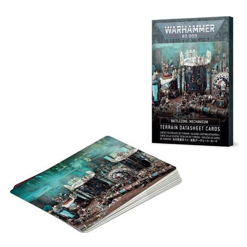 BATTLEZONE MECHANICUM TERRAIN CARDS (SPA)