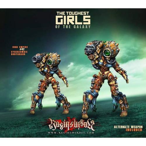 #42, Cyber Zombie Bodyguard (IE)
